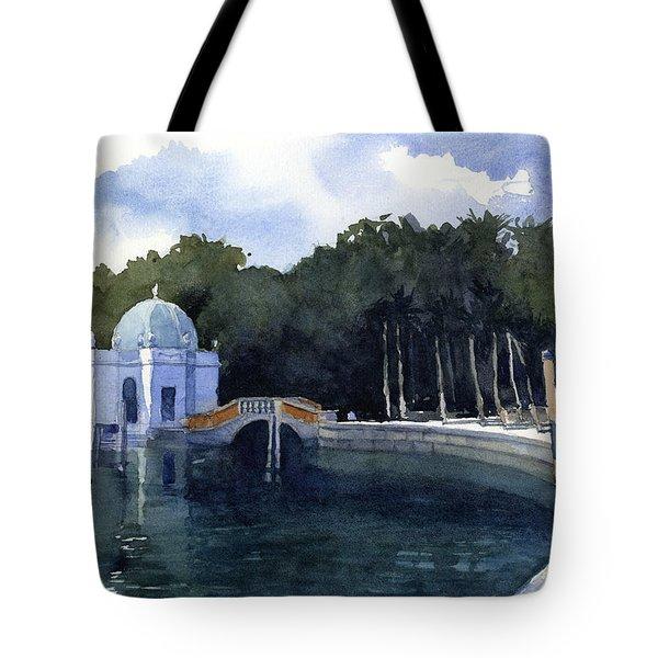 Folly At Viscaya Tote Bag