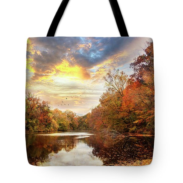 For The Love Of Autumn Tote Bag