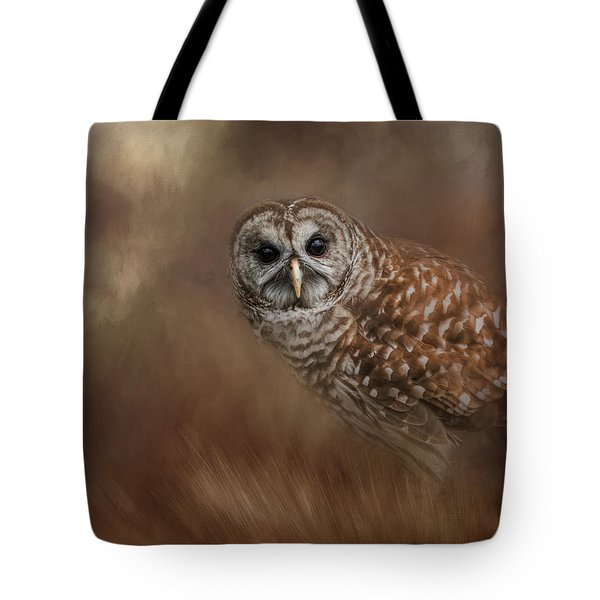 Foraging In The Field Tote Bag