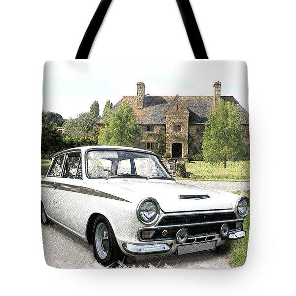Ford 'lotus' Cortina Tote Bag