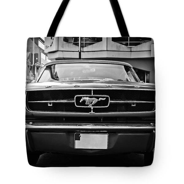 Ford Mustang Vintage 1 Tote Bag