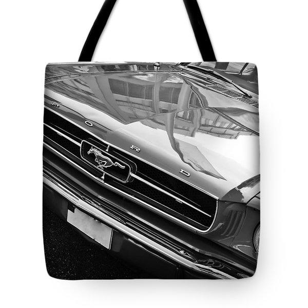 Ford Mustang Vintage 2 Tote Bag