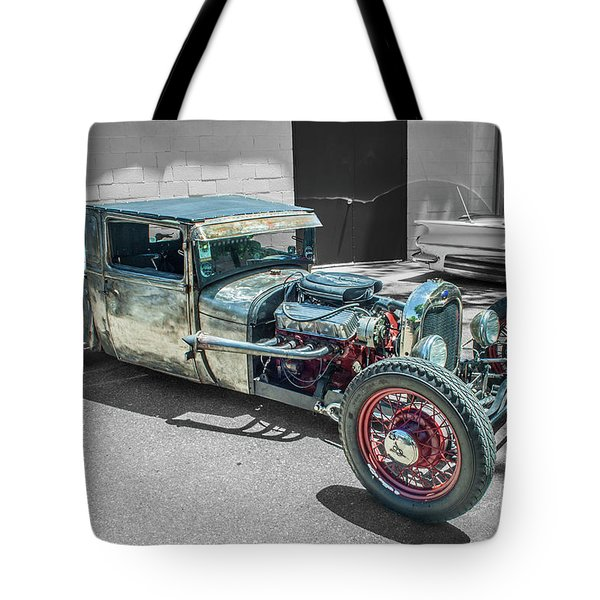 Ford Rat Rod Tote Bag