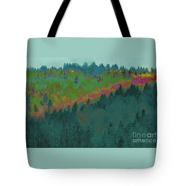 Forest And Valley Tote Bag