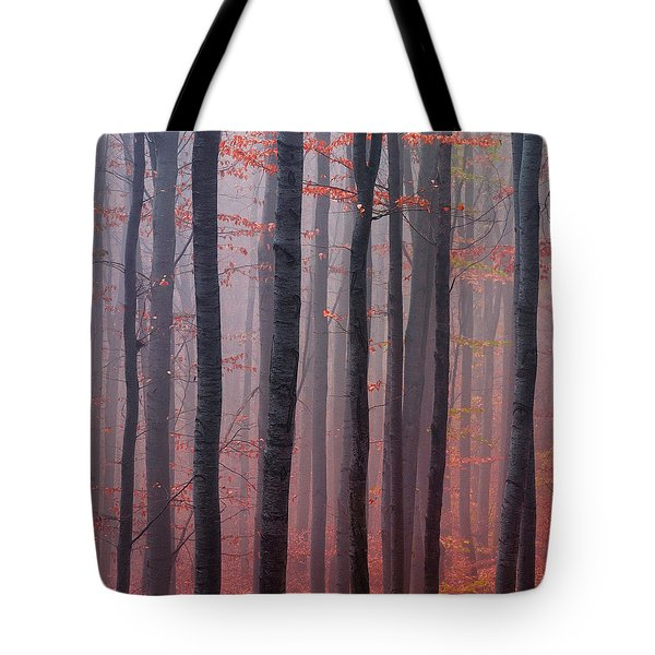 Forest Barcode Tote Bag