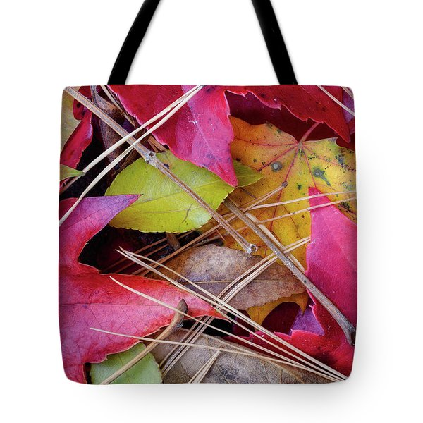 Tote Bag featuring the photograph Forest Floor 1 by Michael Hubley