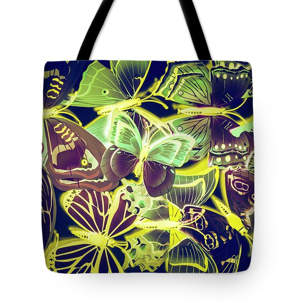 Forest Flutters Tote Bag