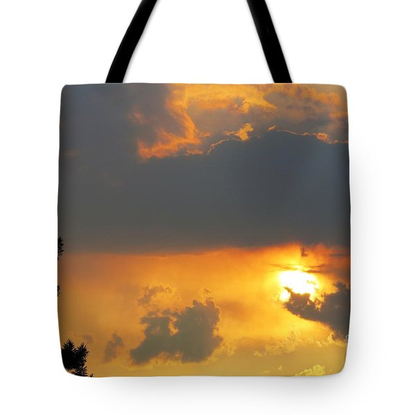 Forest Grove Solar Storm Tote Bag