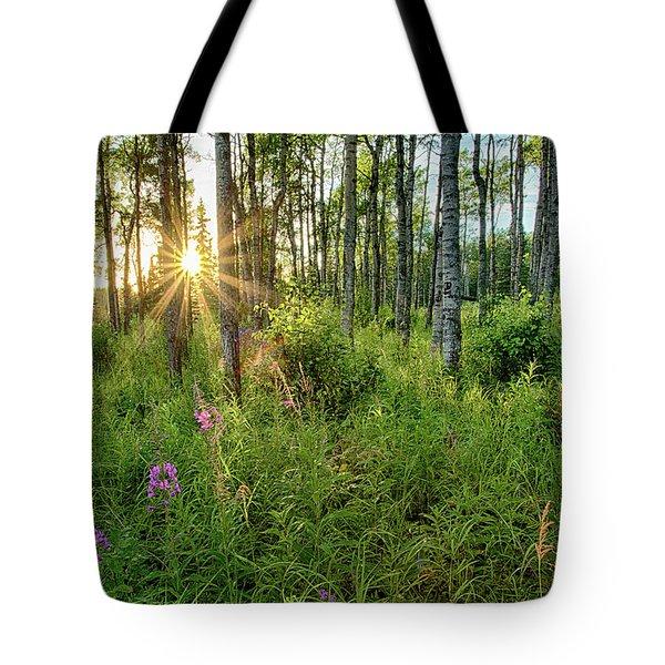 Forest Growth Alaska Tote Bag