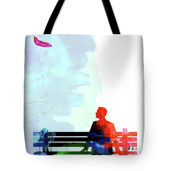 Forest Gump Watercolor II Tote Bag