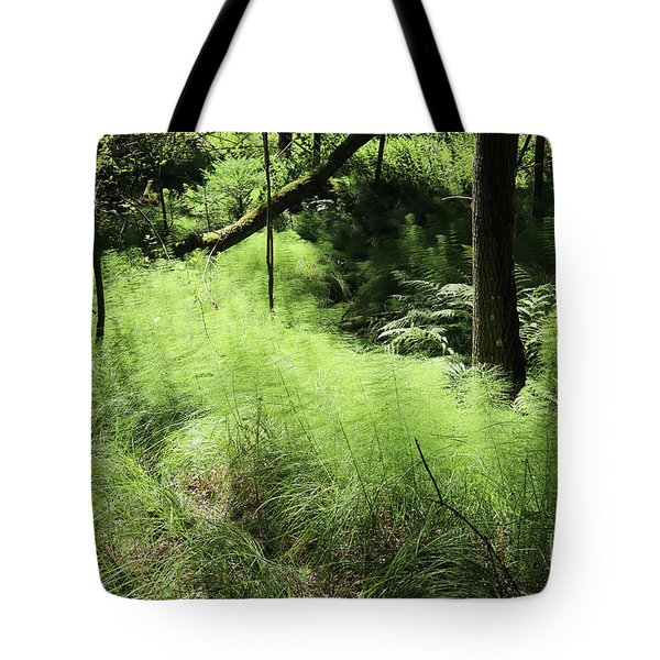 Forest Still Life With A Horsetail Tote Bag