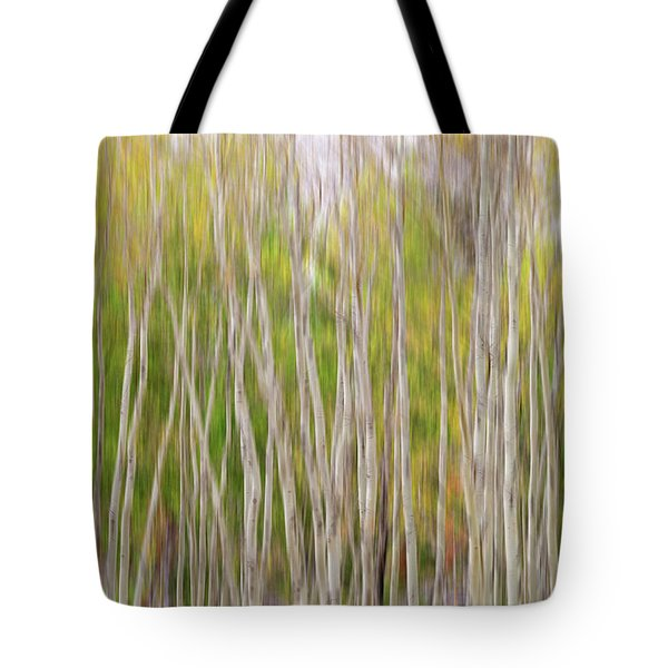 Tote Bag featuring the photograph Forest Twist And Turns In Motion by James BO Insogna