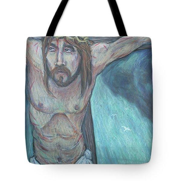 Forgive Them Father  Tote Bag