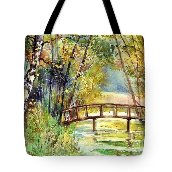 Forgotten Bridge Tote Bag