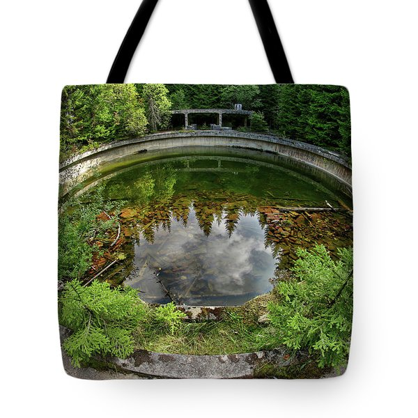 Former The Tin Mine And War Prisons Rolava - Sauersack Tote Bag