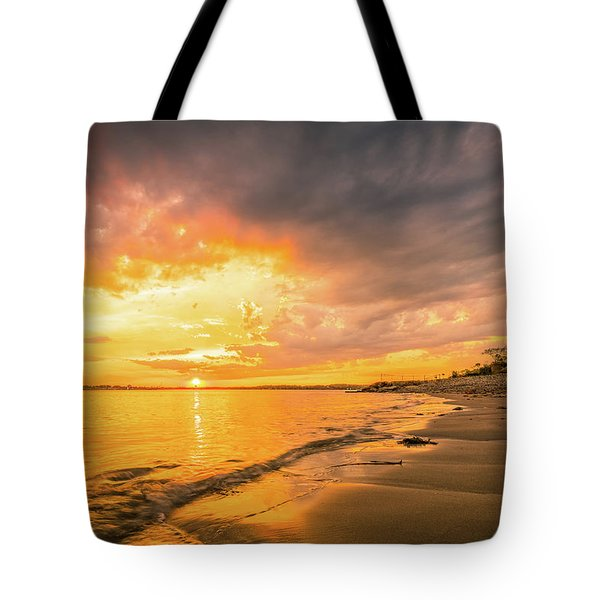 Fort Foster Sunset Watchers Club Tote Bag