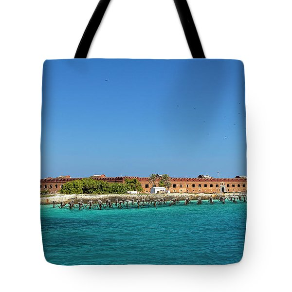 Fort Jefferson, Dry Tortugas National Park Tote Bag