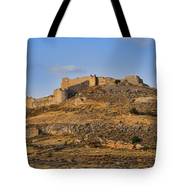 Tote Bag featuring the photograph Fortress Larissa by Milan Ljubisavljevic