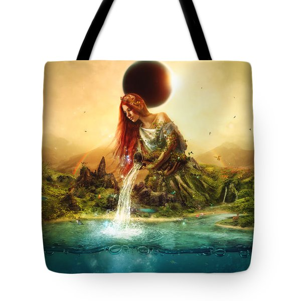 Fountain Of Eternity Tote Bag