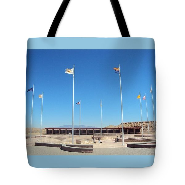 Four Corners Monument Tote Bag