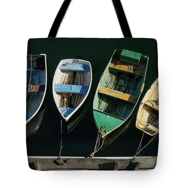 Four Dinghies Tote Bag