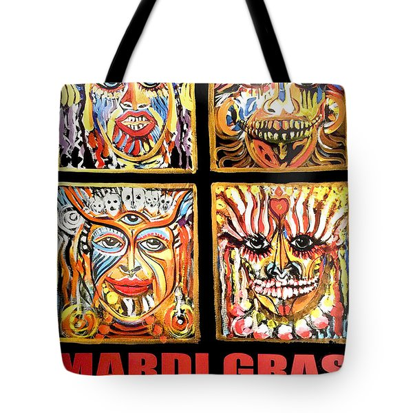 Four Happiness Tote Bag