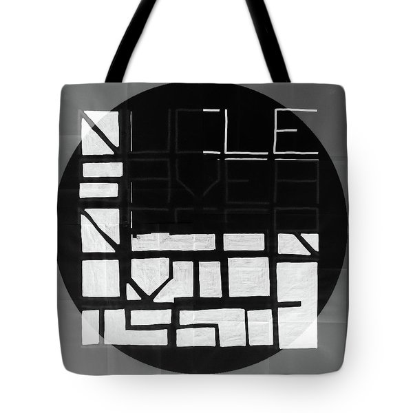 Four - Map Tote Bag