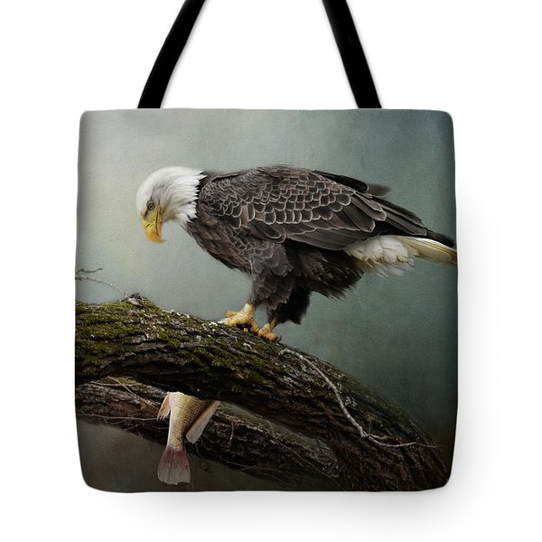Tote Bag featuring the photograph Four Oclock Catch by Jai Johnson