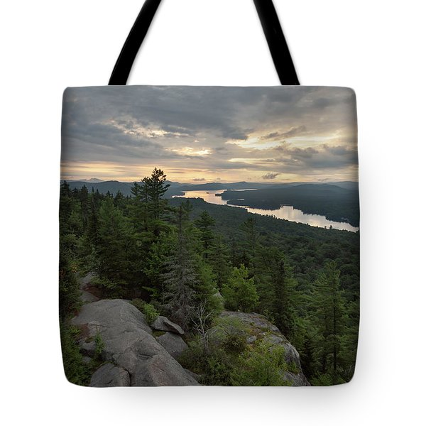 Tote Bag featuring the photograph Fourth From Rondaxe by Brad Wenskoski