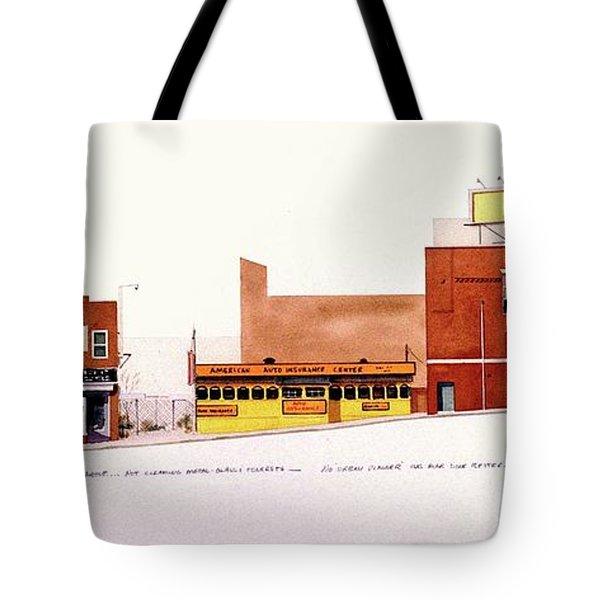 Fourth Street Tote Bag