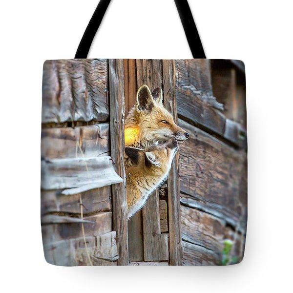 Fox Test  Tote Bag