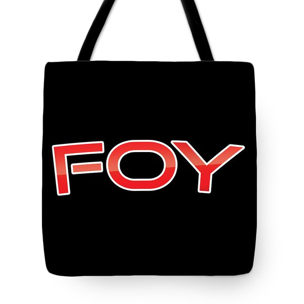 Tote Bag featuring the digital art Foy by TintoDesigns
