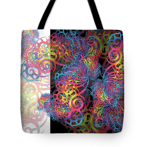 Fractal Illusion Tote Bag
