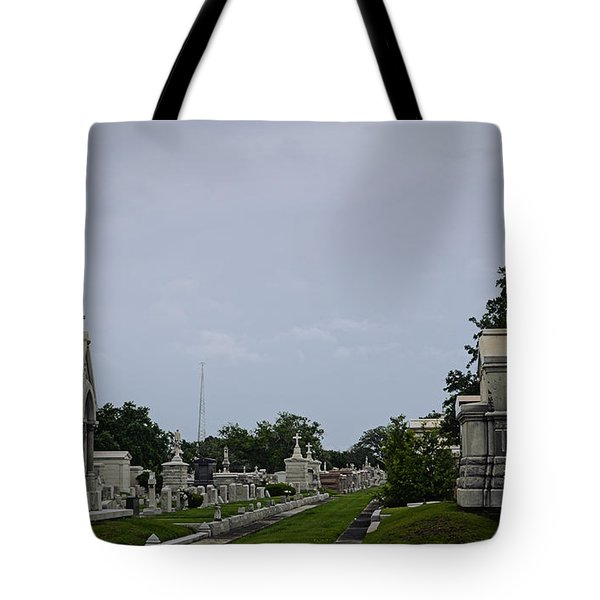 Framed In The Cemetery Tote Bag
