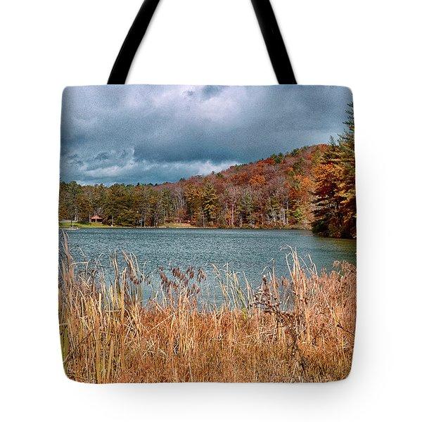 Framed Lake Tote Bag