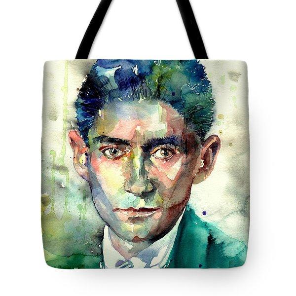 Franz Kafka Portrait Tote Bag