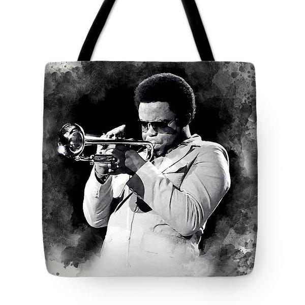 Freddie Hubbard Tote Bag
