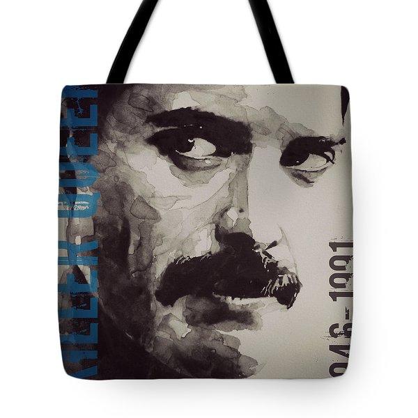 Freddie Mercury - Retro - Tee Shirt  Tote Bag