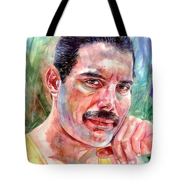 Freddie - The Thinker Tote Bag