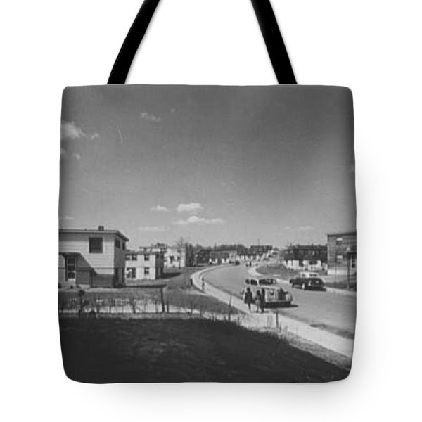 Frederick Douglass Houses, Washington, D.c. Street View I 1944 Tote Bag