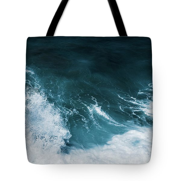Tote Bag featuring the photograph Freedom Of The Ocean Iv by Anne Leven