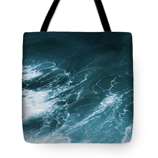 Tote Bag featuring the photograph Freedom Of The Ocean Vi by Anne Leven