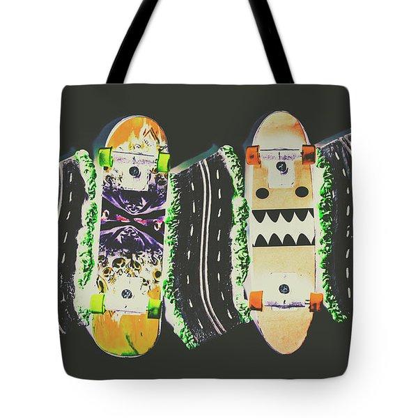Freestyle Freeway Tote Bag
