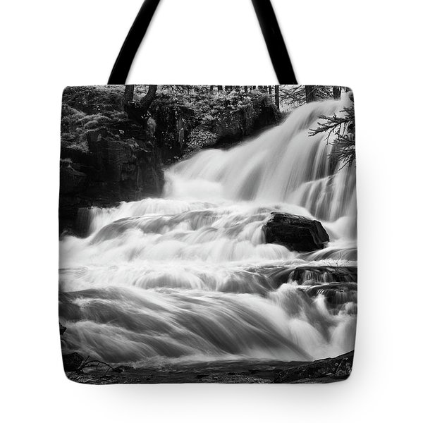 French Alps Stream Tote Bag