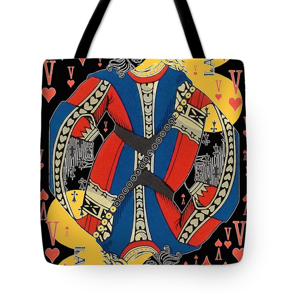 French Playing Card - Lahire, Valet De Coeur, Jack Of Hearts Pop Art - #2 Tote Bag
