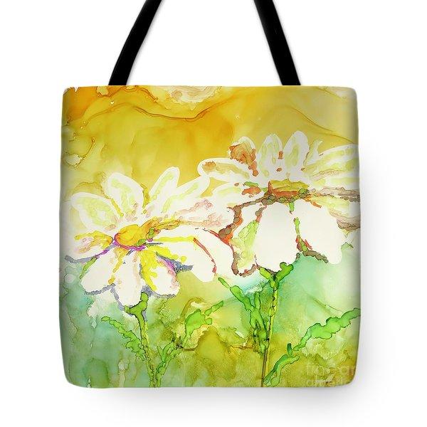 Fresh As Daisies Tote Bag