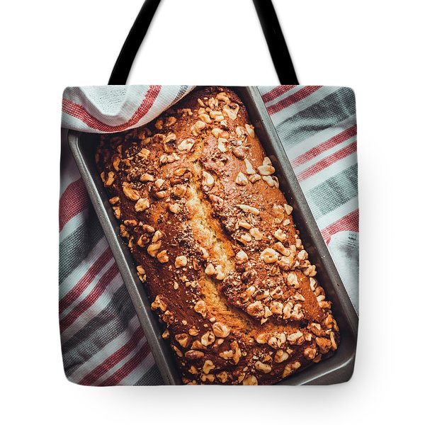 Freshly Baked Banana Bread Tote Bag