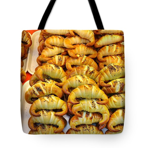 Freshly Baked Croissants Tote Bag
