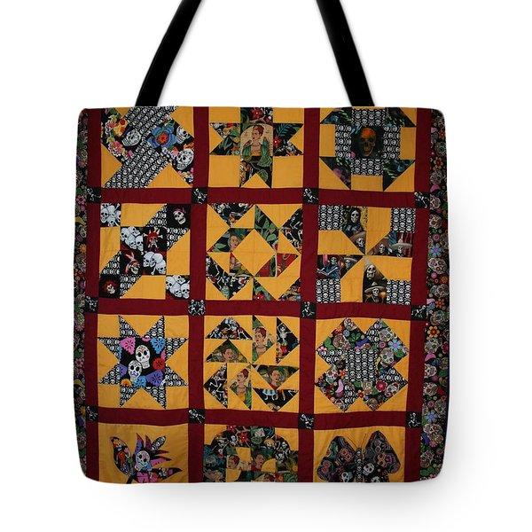 Frida Quilt Tote Bag