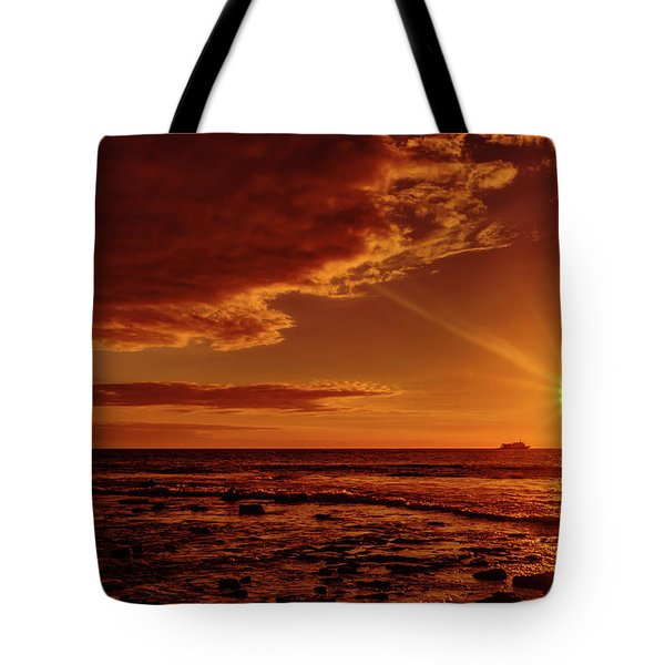 Friday Sunset Tote Bag
